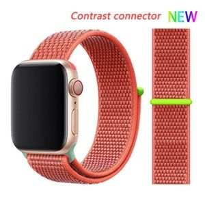 NEW RED CONTRAST CONNECTOR Band For Apple Watch